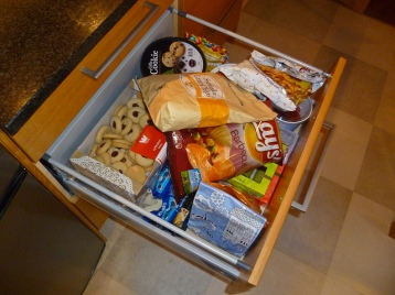 This is our junk food drawer.