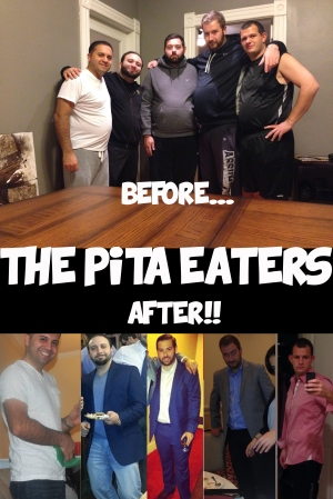Pita Eaters before and after
