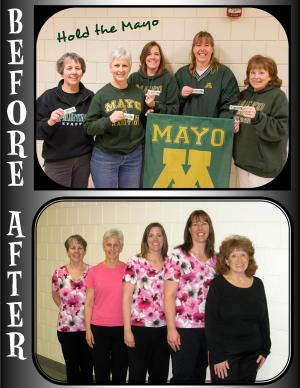Hold the Mayo before and after