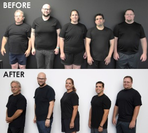 Pseudo Phat Folks before and after