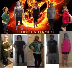 Hunger Games before and after