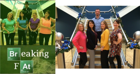 breaking fat before and aft